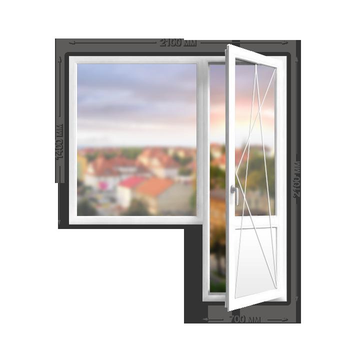«Veka Euroline» балконный блок