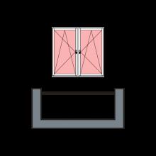 2-створчатое остекление «теплое»